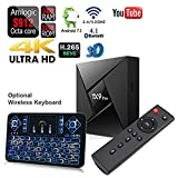 SHENGMO TX9 Pro TV Box Android 7.1 Set top Box Amlogic S912 3GB RAM 32GB ROM 2.4 / 5.8GHz WiFi Support 4K 3D Bluetooth 4.1 player+ Backlit Wireless Keyboard Remote