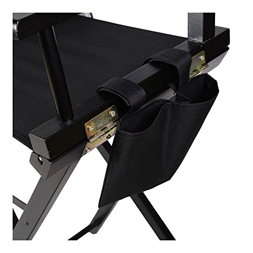 Professional Makeup Artist Directors Chair Wood Light Weight Foldable Black New by Unknown (Image #4)