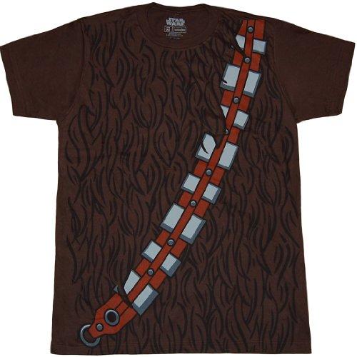 Star Wars I Am Chewbacca Costume T-Shirt-XX-Large (Adult Chewbacca Costume)
