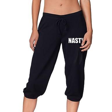 amazon com nasty women casual jogging harem pants running trousers
