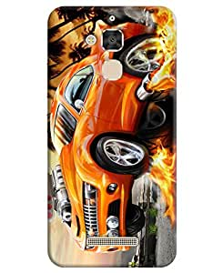 Asus Zenfone 3 Max ZC520TL Back Cover (3D Printed Designer Case) for 5.2 inches Mobile by FurnishFantasy