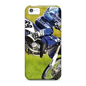 New Arrival Premium 5c Case Cover For Iphone (yamaha Motocross Bike)