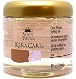 Avlon KeraCare Clear Protein Styling Gel - STYLE - 3 - 455g by Avlon (English Manual)