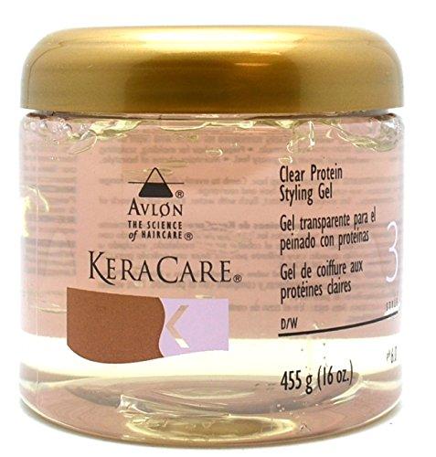 Avlon KeraCare Clear Protein Styling Gel - STYLE - 3 - 455g by Avlon (English Manual) Avl-1324