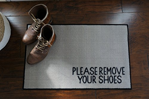 Remove Your Shoes Welcome Door