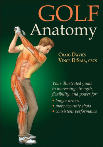 Golf Anatomy ISBN-13 9780736084345