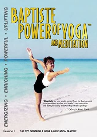 Amazon.com: Baptiste Power of Yoga & Meditation with Sherri ...
