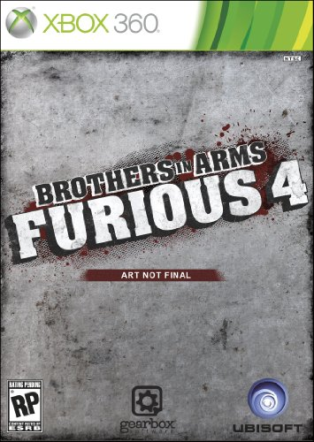 Brothers In Arms Furious 4 - Xbox 360 (Xbox 360 Brothers In Arms)