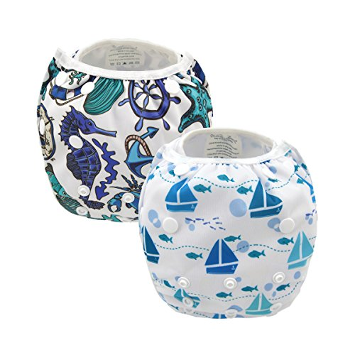 ALVABABY Diapers Reuseable Adjustable Swimming product image