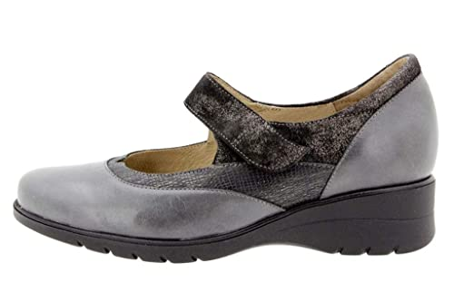 7b7bd4365f2 Calzado Mujer Confort de Piel Piesanto 9957 Zapato Mary-Jean Casual cómodo  Ancho: Amazon.es: Zapatos y complementos