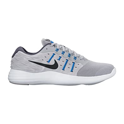 Nike Lunarstelos Wolf Grey/Black/Soar/Dark Grey Mens Running Shoes