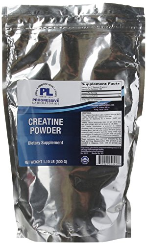 Progressive Labs Creatine Powder Supplement, 1.1 Pound Review