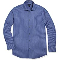 Crafted Collar Men's Slim Fit Spread Collar Button-Up Shirt