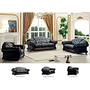 ESF Versa Living Room Set In Black Part 75