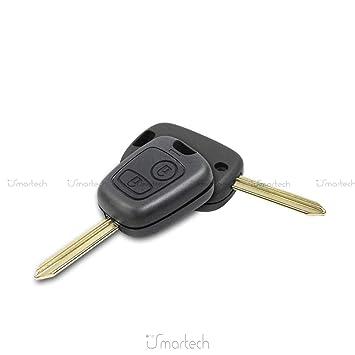 Funda Carcasa para mando de coche para llave Citroen Saxo ...