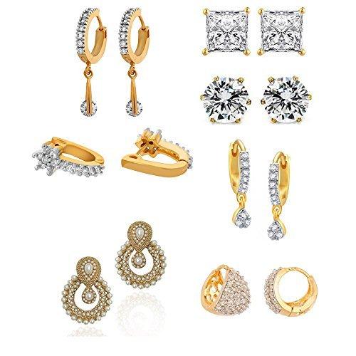 YouBella-Jewellery-Presents-Combo-Of-7-Earrings