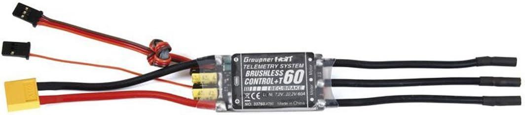 Graupner Regler BRUSHLESS CONTROL 33760.XT60 T 60 XT-60