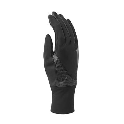 Nike Men's Dri-Fit Tailwind Run Gloves (Large, Black/Anthracite)