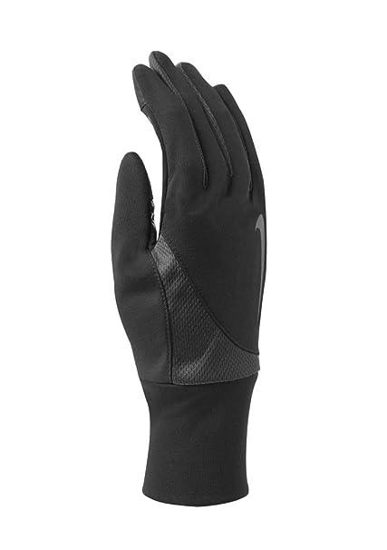 387019d8e7 Amazon.com : Nike Men's Dri-Fit Tailwind Run Gloves (Medium, Black/Anthracite)  : Clothing