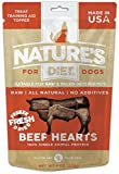 Nature's Diet Raw Freeze Dried Grain Free Dog Treats, 100% Beef Hearts For Sale
