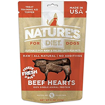 Nature's Diet Pet Raw Freeze Dried Grain Free Dog Treats
