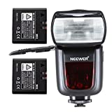 NeewerLI-ION BATTERY TT860MASTER E-TTL Camera Flash Speedlite Kit for Canon 5D Mark 2 3 6D 7D 70D 60D 50D Digital Rebel T3 SL1 T5i T4i T3i Xti XT / EOS 1100D 100D 700D 650D 600D 400D 350D and other Canon Ditial SLR Cameras, Includes: (1)TT860 E-TTL Flash + (2)LI-ION Batteries + (1)AC Charger + (1)Mini Stand + (1)Deluxe Flash Case