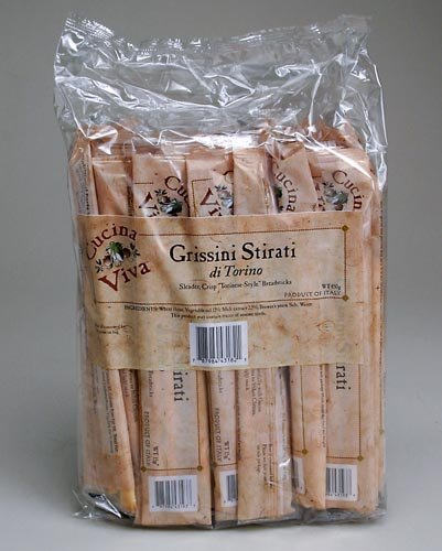 Cucina Viva Traditional Breadsticks, .53-Ounce Packages (Pack of 8)