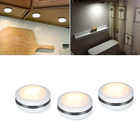 EMVANV Kabellose LED-Schrankbeleuchtung, Betrieb mit ...