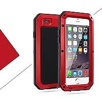iPhone8 4.7インチ ケース 2win2buy ハードケース 生活防水 防塵 耐衝撃 アウトドア スポーツ ケース アイフォン8 耐衝撃カバー レッド iPhone 7も対応でき