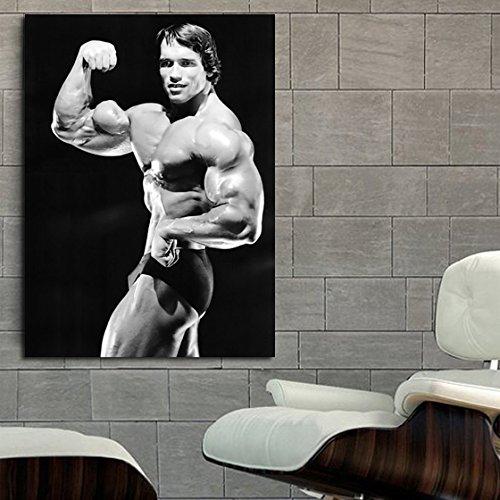 Poster Mural Arnold Schwarzenegger Muscle Fitness Body Builder cm Adhesive Vinyl
