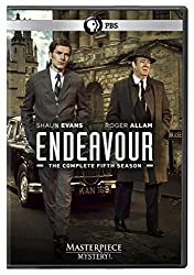 Masterpiece Mystery!: Endeavour, Season 5 DVD