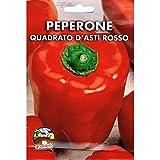 Vivai Le Georgiche Peperone Quadrato d'Asti Rosso (Semente)