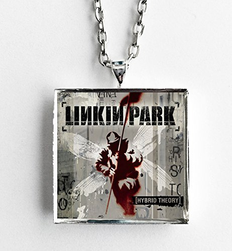 Album Cover Art Pendant Necklace - Linkin Park - Hybrid Theory