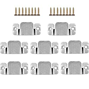 Amazoncom mudder universal sectional sofa interlocking for Sectional sofa connectors 4 pack