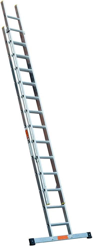 Ladders-Online EN131 - Escalera corredera (aluminio): Amazon.es: Bricolaje y herramientas