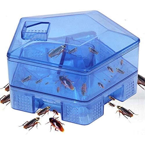 Cockroach Trap Safe Efficient Anti Cockroaches Killer Plus Large Repeller No Pollute for Kitchen Home Office Garden Supplies   Sky bluee