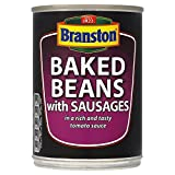 Branston Baked Beans with Sausages (405g) - Pack of 2
