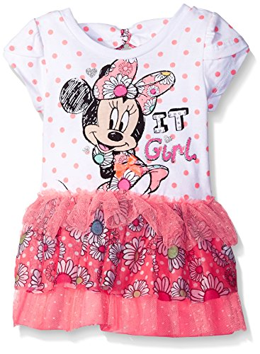 Disney Baby Minnie Mouse Tutu Dress, Pink, 12 Months (Tutu Minnie Mouse)
