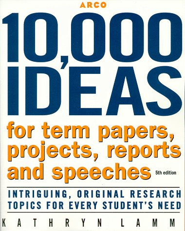 Ideas for term papers