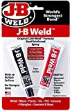 J-B Weld 8265S Steel Reinforced Epoxy, 2 oz, Pack of 2