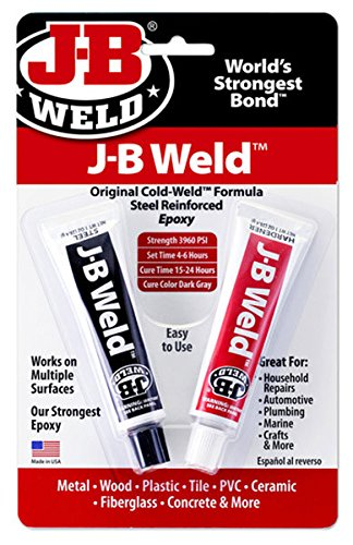 - J-B Weld 8265S Original Cold-Weld Steel Reinforced Epoxy - 2 oz.