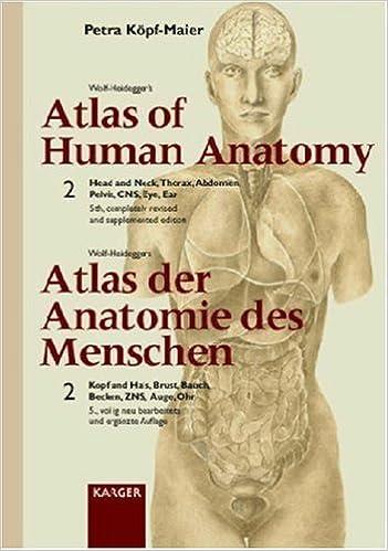 Wolf-Heidegger\'s Atlas of Human Anatomy: Head and Neck, Thorax ...
