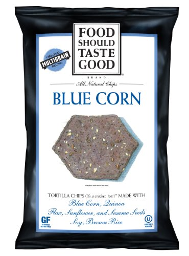 Food Should Taste Good Blue Corn Tortilla Chips, 1.5-Ounce (Pack of (Foods Blue Corn Tortilla Chips)