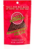 Nutty Goodness Gluten Free Chewy Fruit and Nut Bites, Rhawberry Fields 1.5 oz Pouch (12 count)