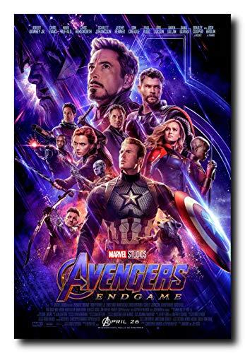 - Mile High Media Avengers Endgame Movie Poster 24x36 Inch Wall Art Portrait Print - Chris Evans - Brie Larson - Robert Downey Jr. - Scarlett Johansson - Chris Hemsworth