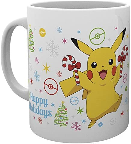 GB Eye LTD, Pokemon, Xmas Pikachu, Taza: Amazon.es: Hogar