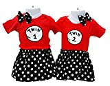 Twin Girls Outfits by Perfect Pairz designed for Birthday Photos Events