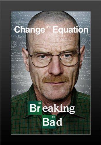 Amazon.com: Breaking Bad - Change the Equation TV Show Art Print ...