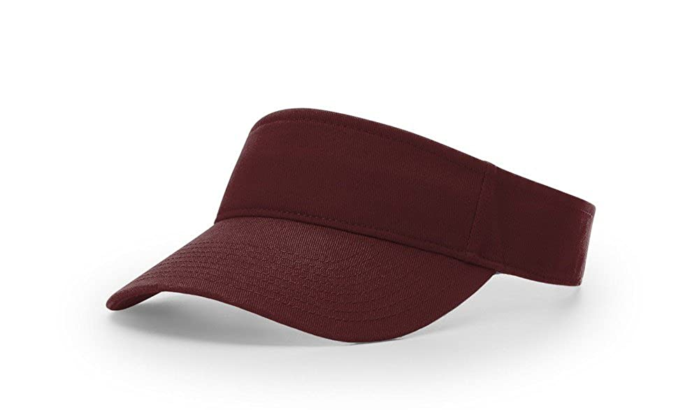 Richardson R45 Garment Washed Blank OSFA Sun Visor Adjustable Cap