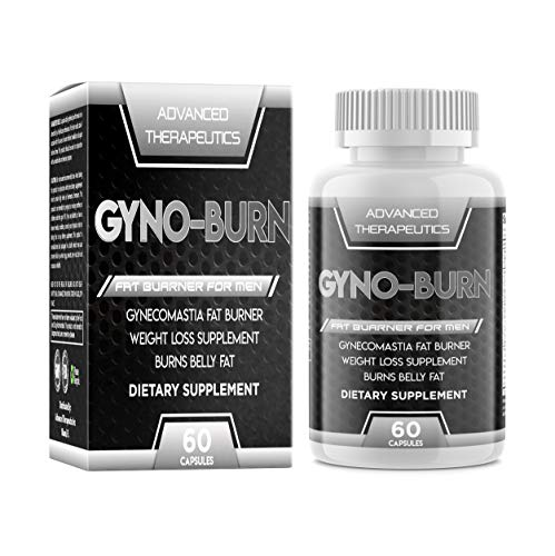 Gyno-Burn Pills Male Chest Fat Burner Reduces Breast Fat and Eliminates Embarrassing Man Boobs Fast. Male Boob Fat…